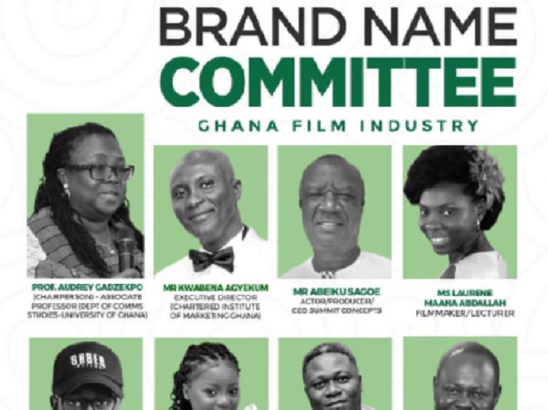 Film authority sets up committee to name Ghana's movie industry
