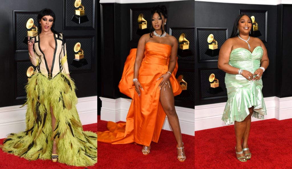 Check out stunning red carpet photos from the 63rd Grammy Awards - MCM