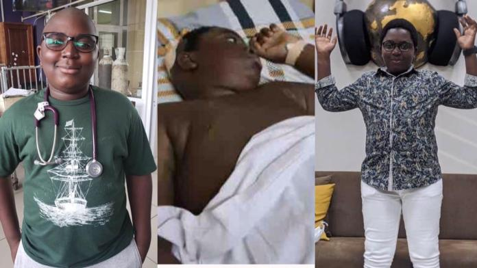 Michael Kofi Asiamah: 13-year-old brain tumour patient who Sarkodie donated $10K towards his surgery is dead