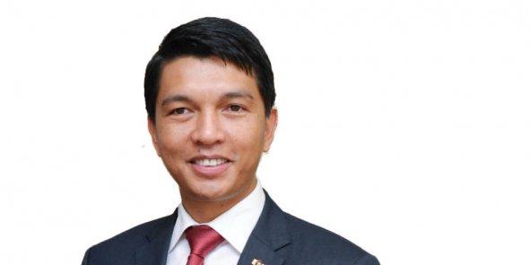 Andry Rajoelina. © EvanSCHNEIDER/UN PHOTO