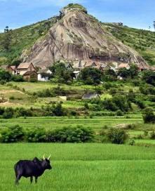 Petit village, 15 Km av Manjakandriana. Ph. Faly aho fa Malagasy.