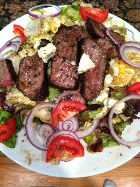 Blackened Steak Salad