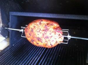 BBQ Rotisserie Ham