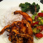 shrimp and coconut rice