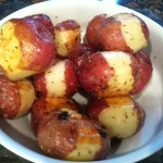 Roasted Red Potatoes with Rosemary Garlic