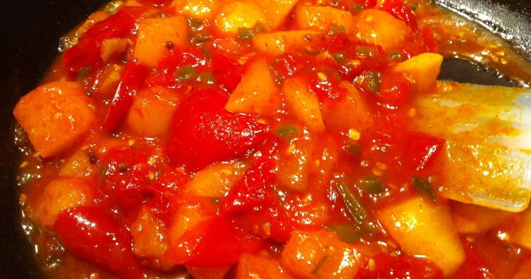 Mango Chutney with Tomatoes