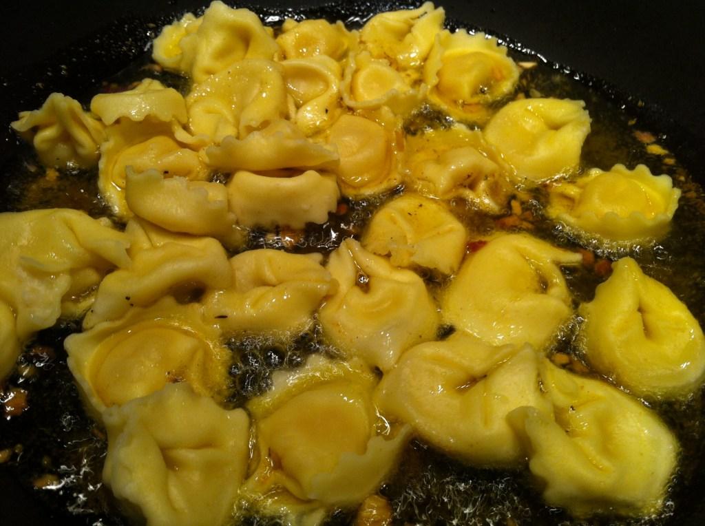 sauteed cheese tortellini