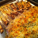Rack of Lamb with Mustard and Panko