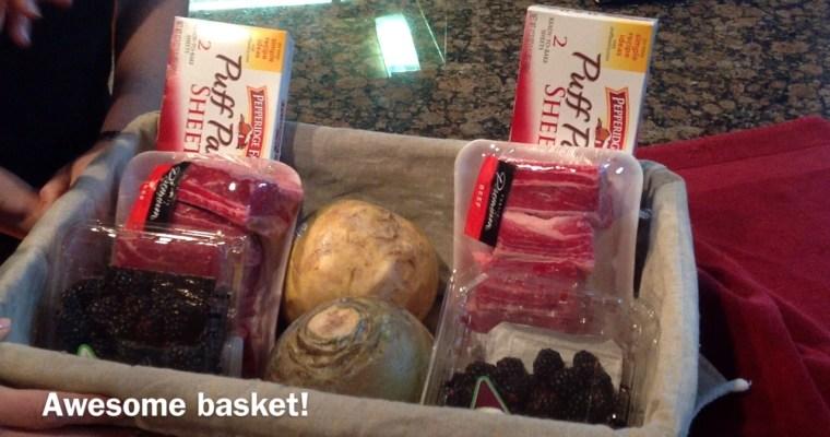 McNacks Mystery Challenge: Basket Number 1
