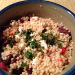 Israeli Couscous Salad with Feta
