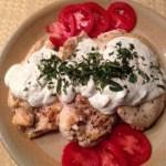 Grilled Chicken with Tzatziki Sauce