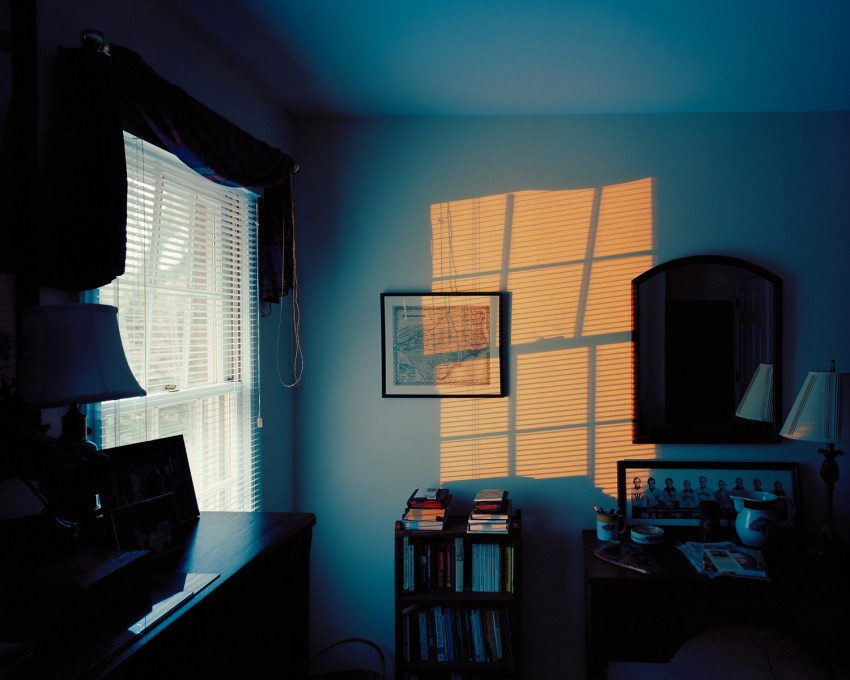 Blue Room w/ Yellow Window Light