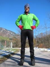 Pete's stylish winter 'Euro' look!