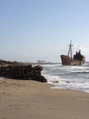 The beach at Gythion