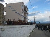 The festival of the 'throwing of the cross' in Elea