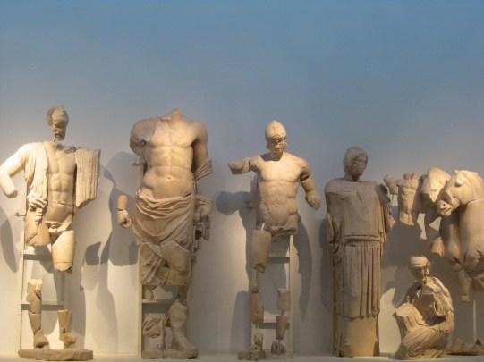 The Facade from Zeus' Temple.