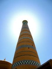 083 'Tower In Khiva' - Uzbekistan
