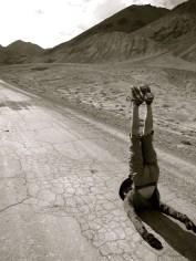 Regular back stretches