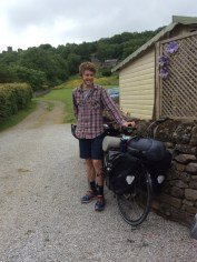 Hosting our own cycle tourers!