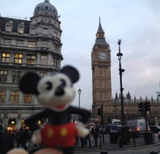 Took Mickey to London