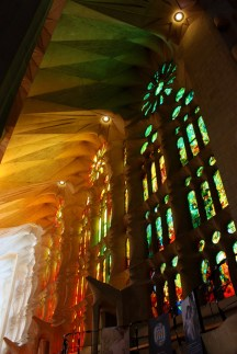 Being inside Sagrada Familia was a humbling experience.