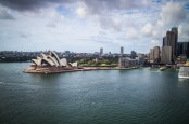 A view from Harbour Bridge.
