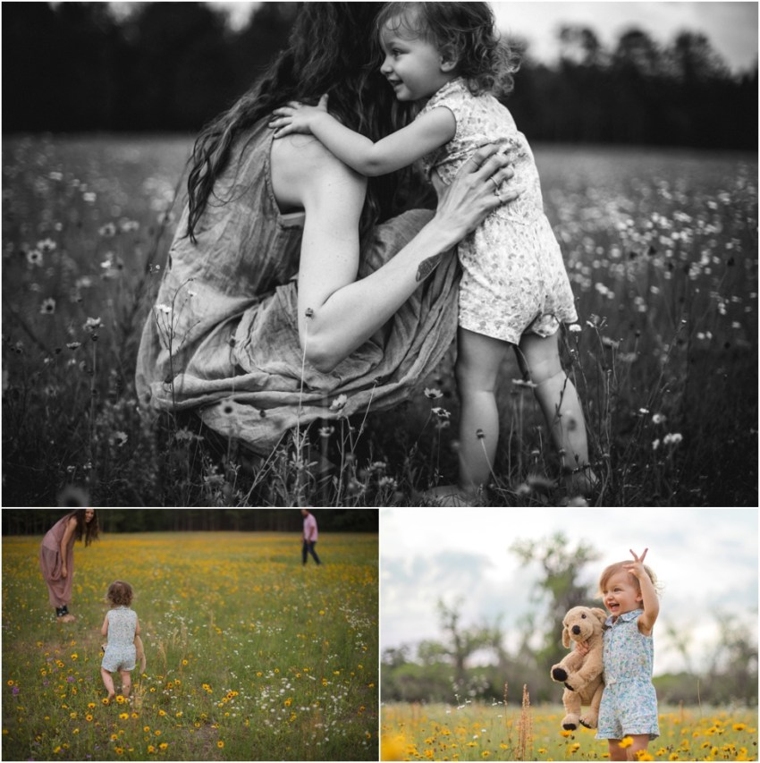 children photo session in the field | jacksonville children photographer
