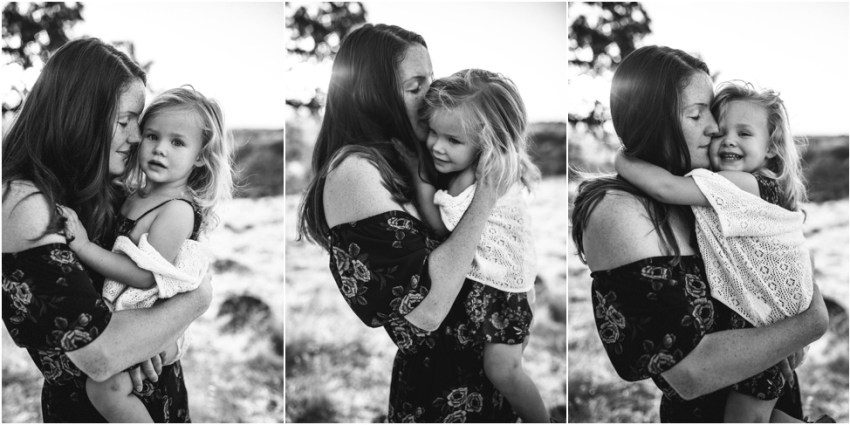 portrait of mom and child hugging | Jacksonville Children Photographer
