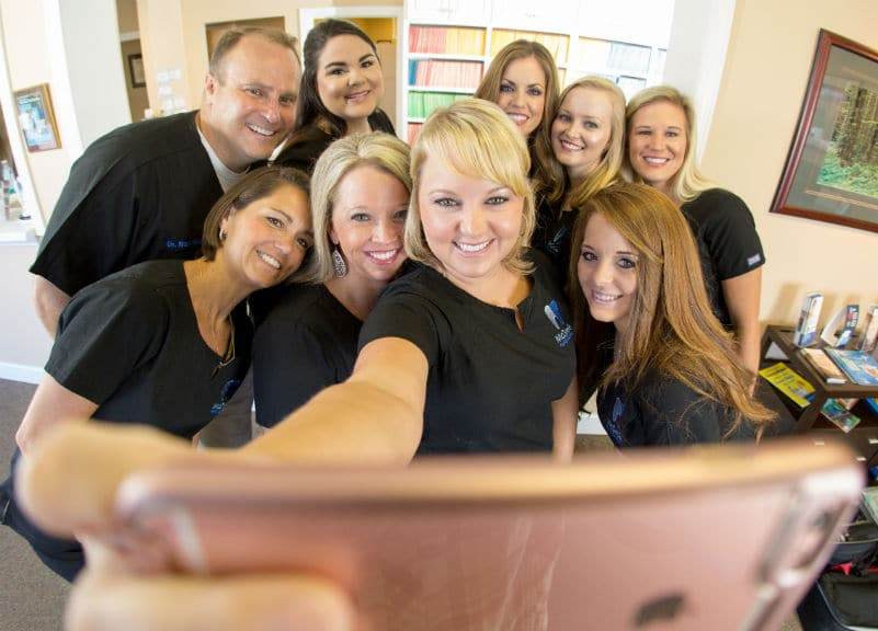 McOmie Family Dentistry staff group shot