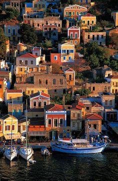 Symi town