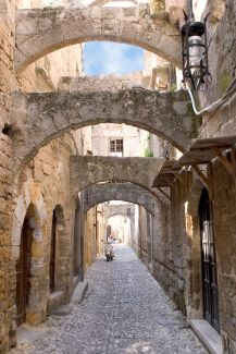 Rhodes old city