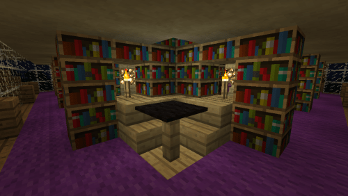 Level 5 has some cosy reading areas!