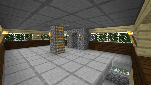 Second floor. I should probably furnish it at some point.