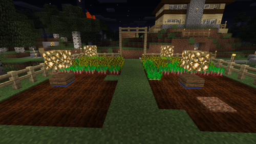 Crops and lights