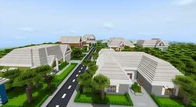 Sanjana's Neighbourhood | Minecraft PE Maps