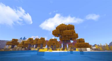 Minecraft Autumn Pack | MCPE Texture Pack
