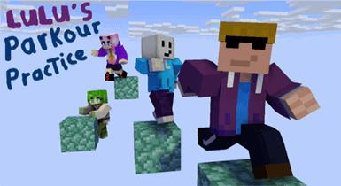 Lulu Parkour Practice   Minecraft Map