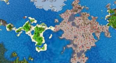 Small Jungle Island, Mushroom Island and Ruined Portal | Minecraft Seed