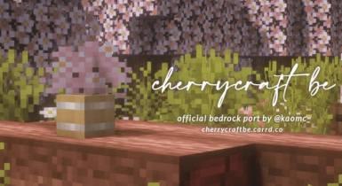 Cherrycraft BE | Minecraft PE Texture Pack