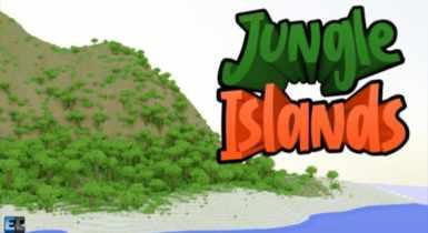Jungle Islands Custom [Terrain] | Minecraft PE Maps