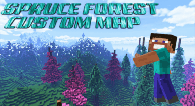 Spruce Forest Custom Terrain