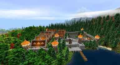 The Snowcoal Medieval Kingdom   Minecraft PE Maps