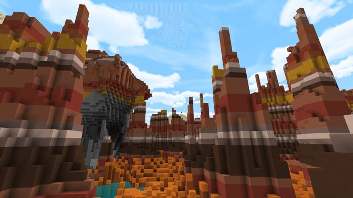 Amplified Biomes Minecraft Addon,Amplified Biomes