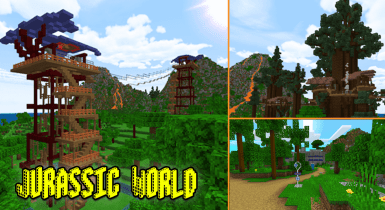 Jurassic World Resort Map [Fan Project]
