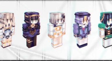 Genshin Impact Teyvat Skin Pack  Minecraft PE Skins