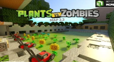 Minecraft PvZ 2 Map for MCP