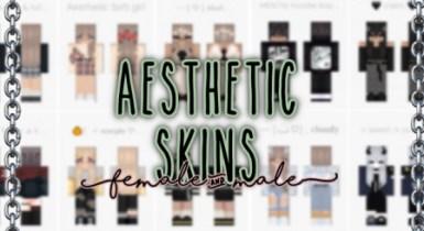 Aesthetic Skin Pack Minecraft (Male & Female)