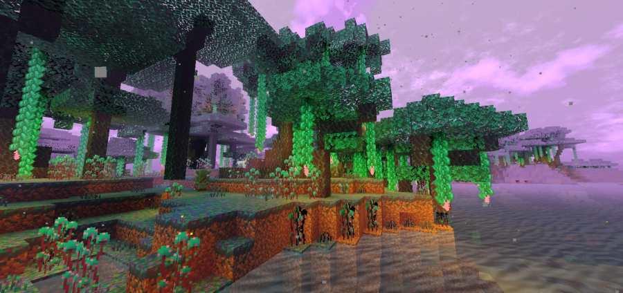 Pure Fantasy World   Fantasy Biomes Addons