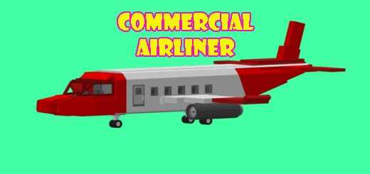 Commercial Airliner/ Airplane addon