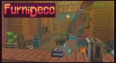 FurniDeco   Minecraft PE Add-ons